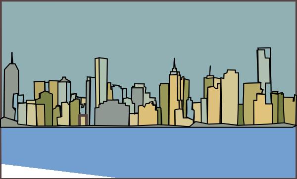 png library download Melbourne Skyline Clip Art at Clker