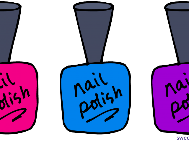 jpg freeuse Manicure clipart. Nail polish free on.