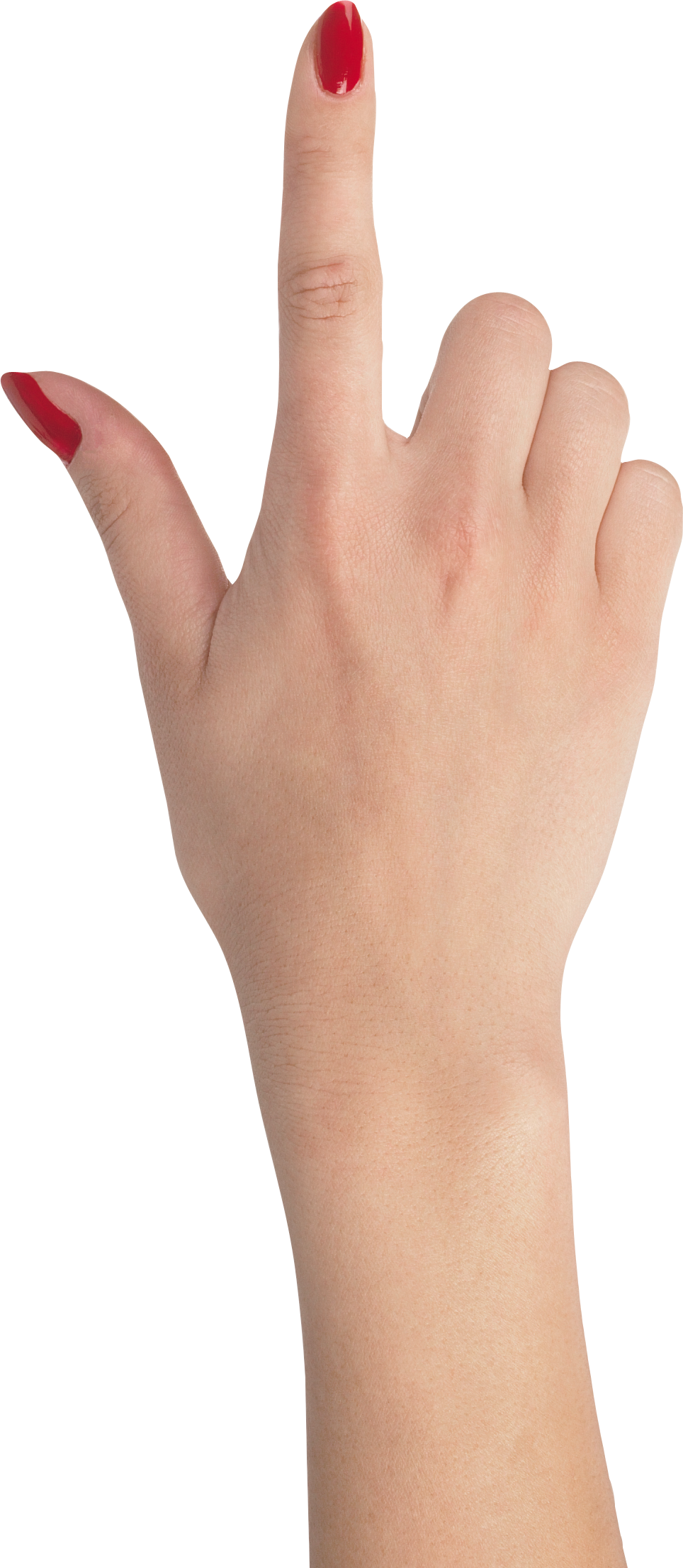 svg black and white stock Manicure clipart lady hand. Female pointing up real.