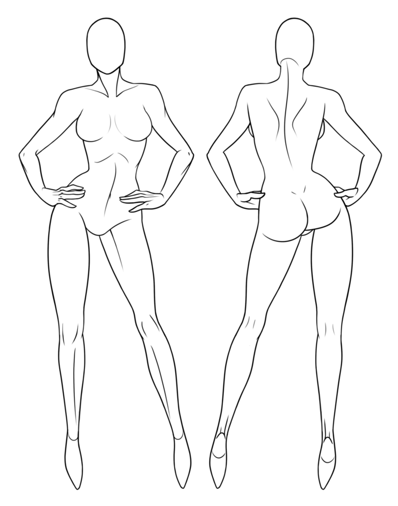 free Mannequin at getdrawings com. Drawing outfits female