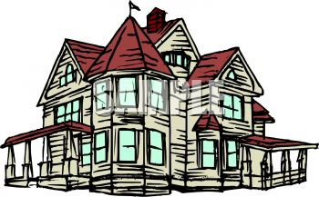 clip black and white library Mansion clipart. Free cliparts download clip.