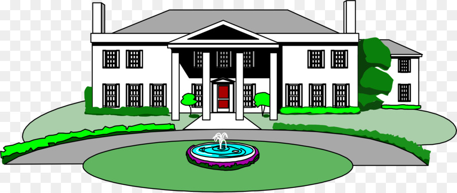 black and white download Real estate background technology. Mansion clipart.