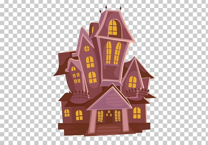 svg black and white library Haunted house cartoon png. Mansion clipart animated