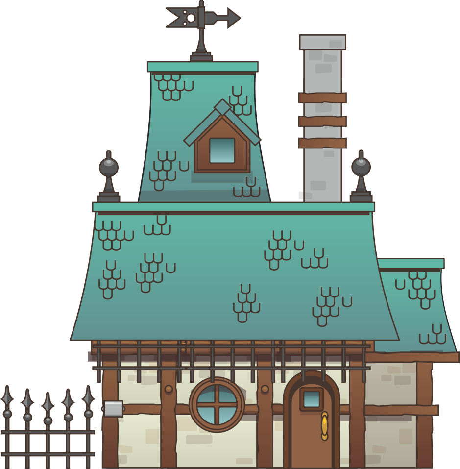 clipart royalty free download Mansion clipart animated. Nice house nicely done