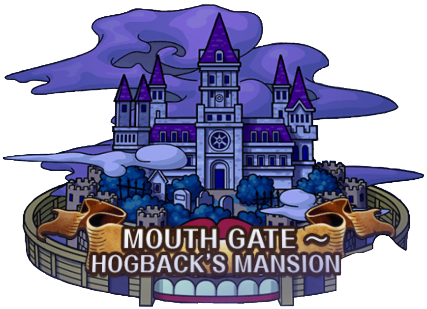 graphic transparent download Mansion clipart castle. Mouth gate hogback s