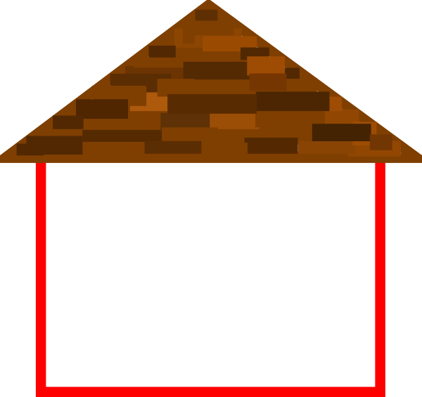 clipart library Roof clipart. Mansion outline free house.