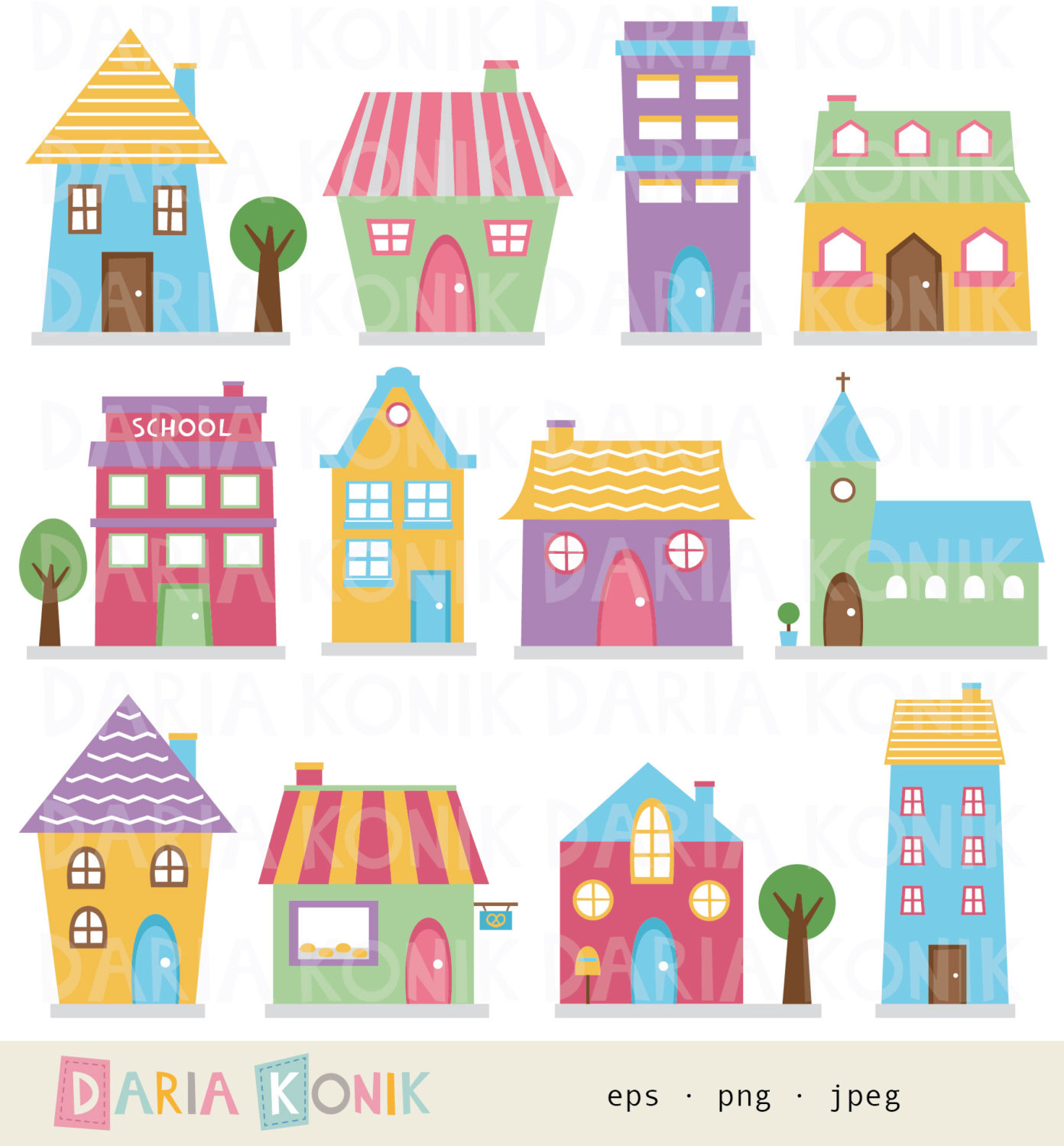 vector royalty free library Collection of free houses. Mansion clipart cute home.