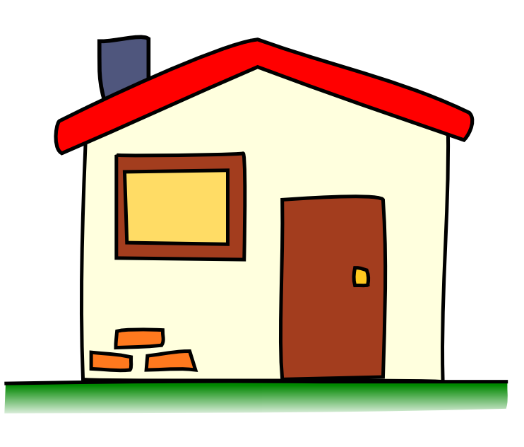 banner freeuse library . Mansion clipart easy cartoon.