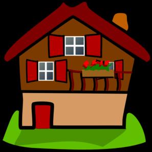 banner free stock Cartoon house clip art. Mansion vector clipart