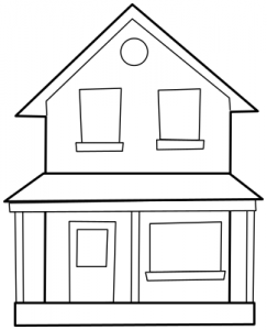 png library download Mansion clipart two story. Free house cliparts download.
