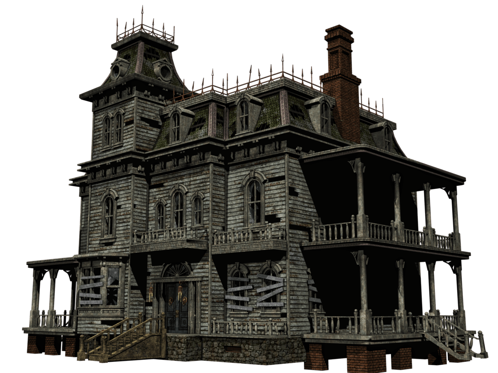 jpg transparent library Haunted free on dumielauxepices. Mansion clipart village house.