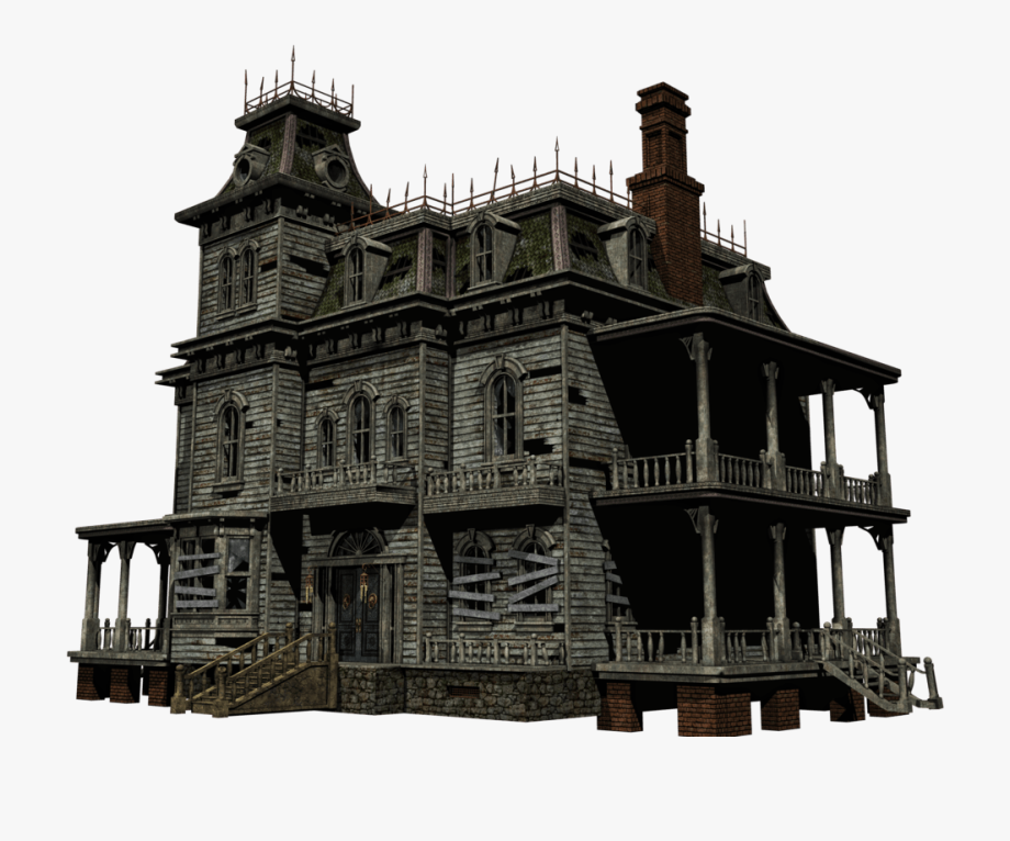 graphic freeuse library Mansion clipart village house. Haunted png cliparts .