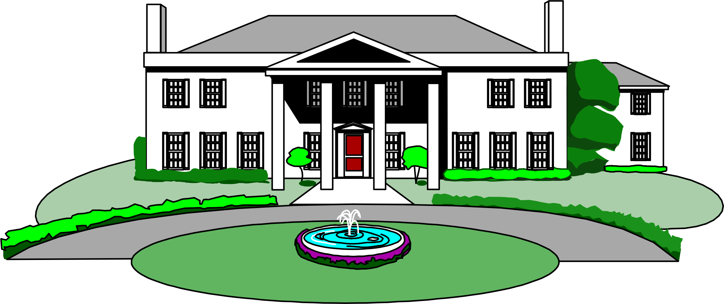picture freeuse library Big image png. Mansion clipart.