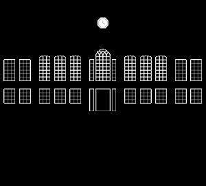 svg free library Mansion vector. Rhode island university logo