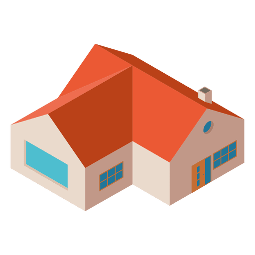 download Mansion vector isometric. Download house building vectorpicker