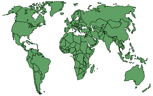 jpg library stock Political green transparent world map A