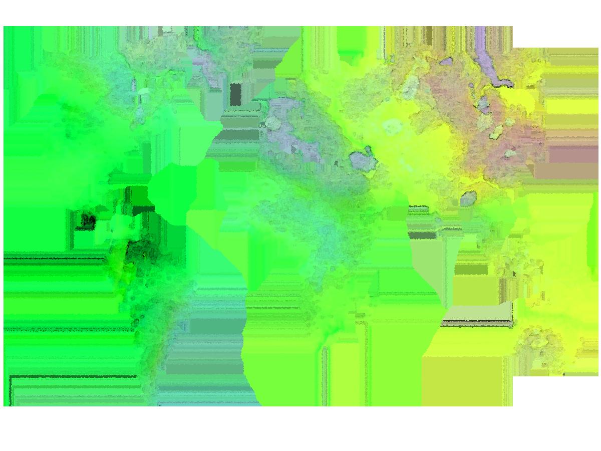 vector transparent Watercolor World Map