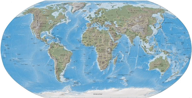 png freeuse download transparent map world physical #106049894