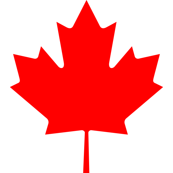 clip freeuse Maple clipart leaf pattern. Flag of canada sugar.