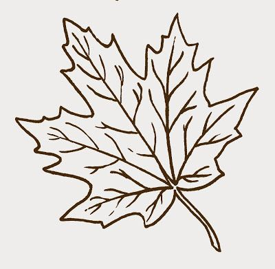 vector freeuse stock Maple clipart leaf pattern. Free clip art pyrography.