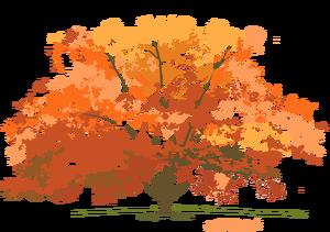 vector library download Web design development fall. Maple clipart tree autumn.