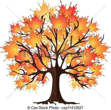 vector free Clip art of csp. Maple clipart tree autumn.