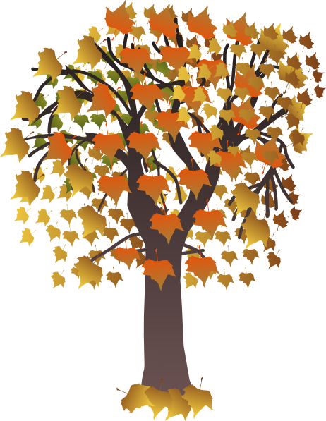image library Clip art vector online. Maple clipart tree autumn.
