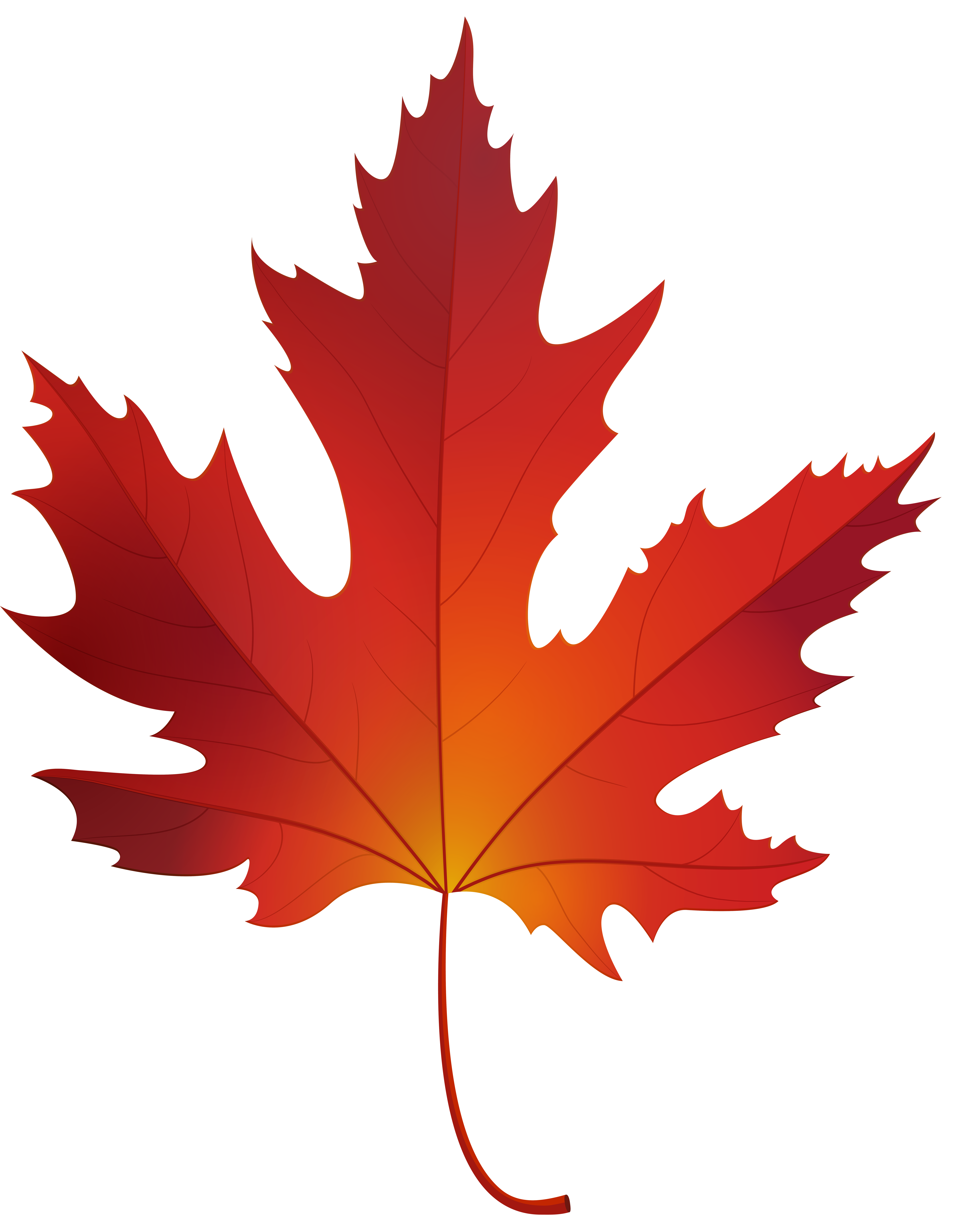 banner free download Maple clipart. Autumn leaf png clip.