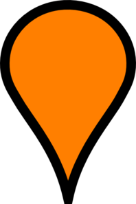 clip art stock Orange pinpoint clip art. Maps clipart pin point.