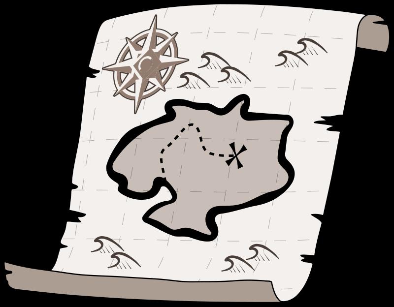 clipart transparent download Treasure map medium image. Maps clipart quest.