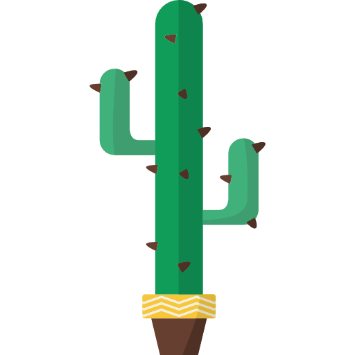 graphic royalty free stock Cactus