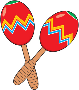 graphic transparent library Free . Maracas clipart insturments.