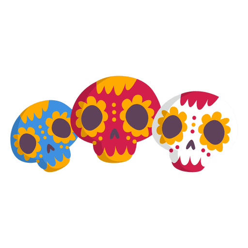 clip stock Mexico skull icon png. Mexican transparent background