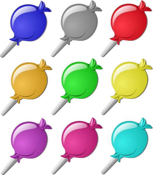 image stock Lollipops clip art at. Marbles clipart 4 candy.