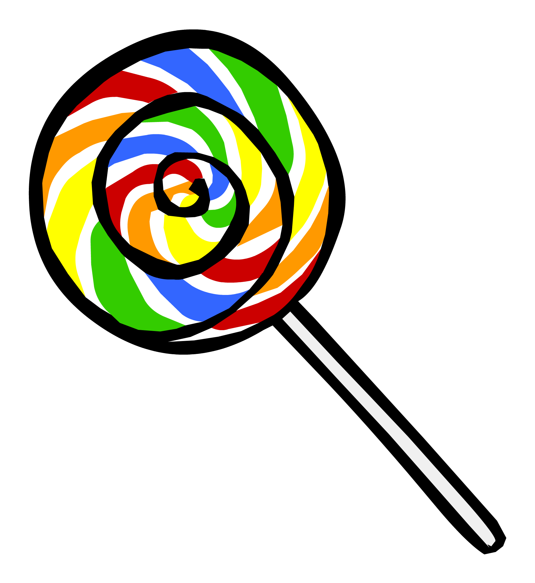 free library Marble Clipart lollipop