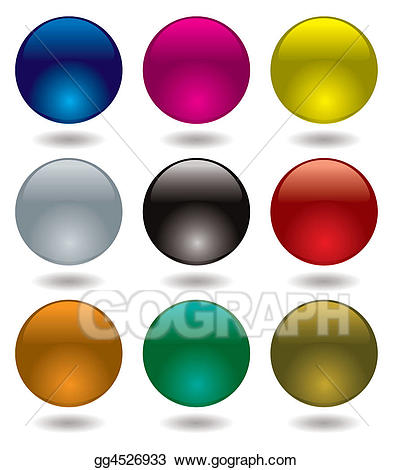 clipart black and white download Marbles clipart orb. Stock illustration marble glow.