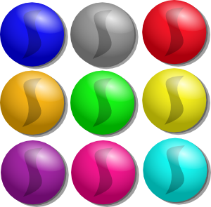 clipart free Game Marbles Dots Clip Art at Clker