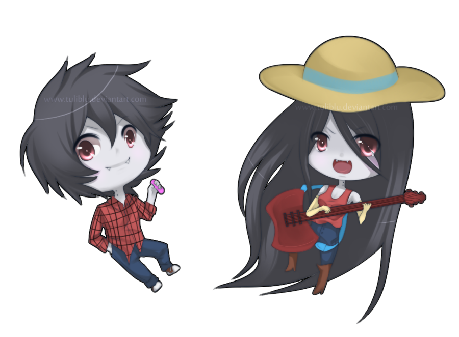 transparent Image at marshall lee. Marceline drawing anime