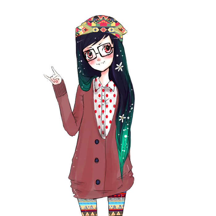 freeuse library Marceline the Vampire Queen Hipster Drawing DeviantArt Anime