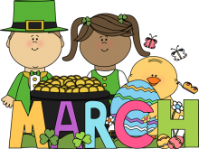 clip download March clipart. Month of clip art.