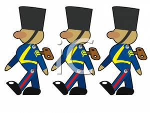 clip black and white download Marching clipart. Free soldiers cliparts download.