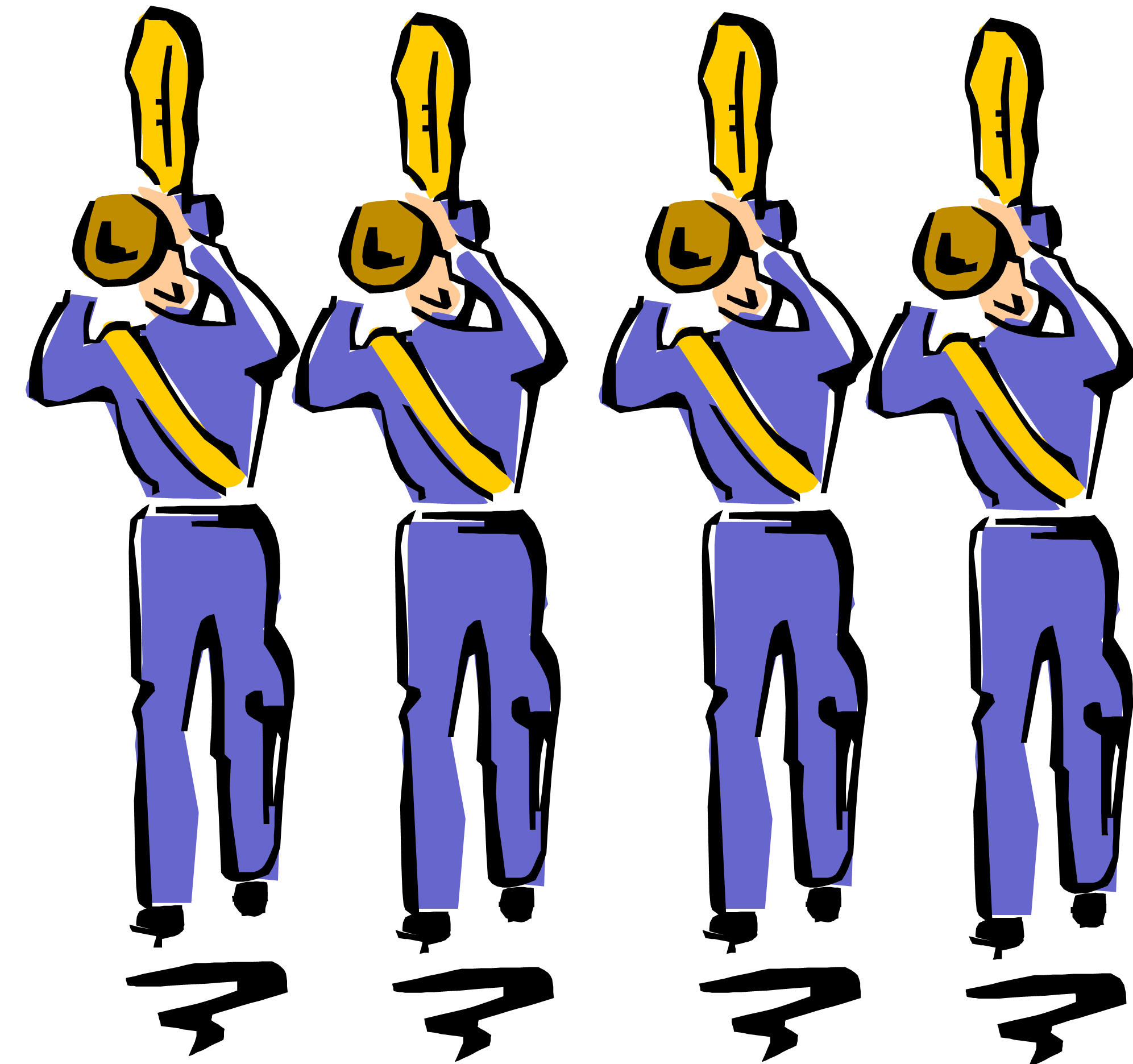 picture transparent Marching Band Clipart Graphics