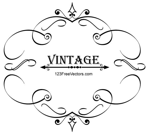 royalty free download De caligraf a free. Marco vector vintage