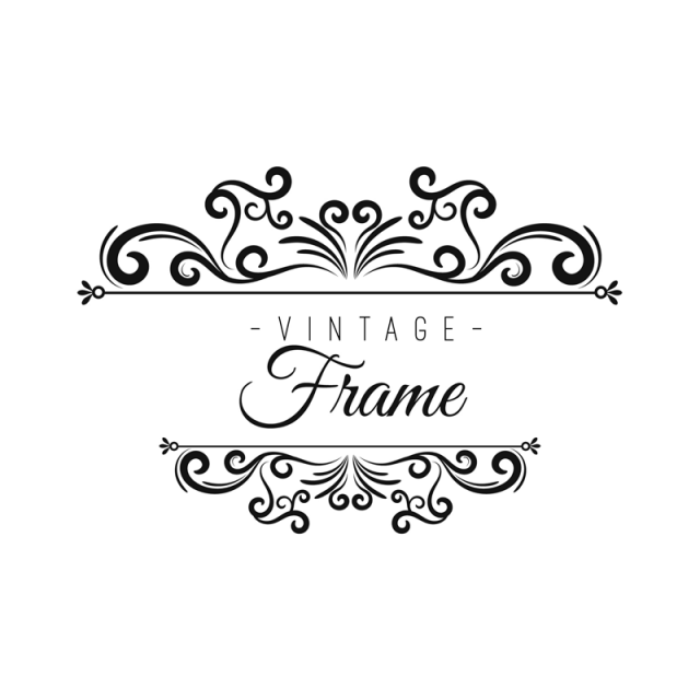 png royalty free stock Frame frames png and. Marco vector vintage.