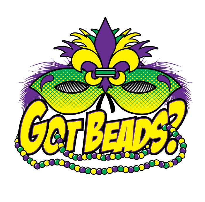 picture free download Mardi gras beads clipart. Got new orleans fat