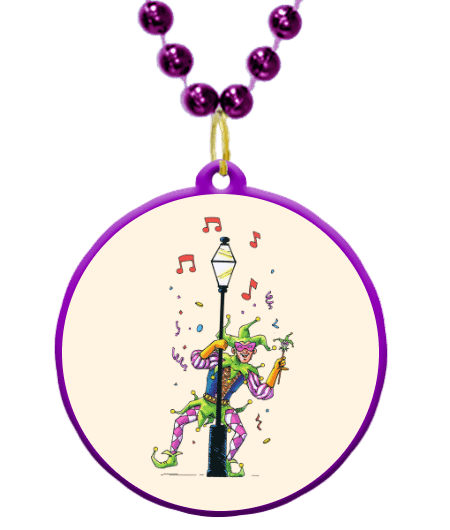image royalty free stock Mardi gras beads clipart. Jester theme custom online