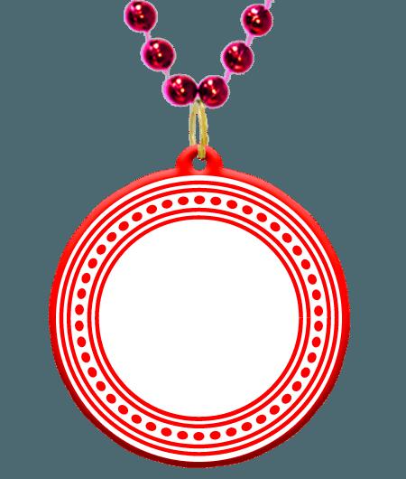 clip art black and white download Custom bead medallion in. Mardi gras beads clipart beaded bracelet.