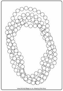 banner stock Picture . Mardi gras beads clipart coloring page.