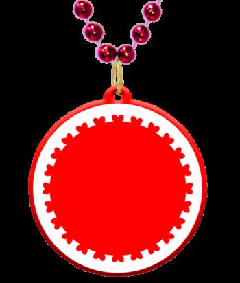 graphic transparent Hearts archives online custom. Mardi gras beads clipart valentine.