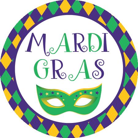 jpg download Mardi gras beads clipart valentine. Napkin knot mask qty.